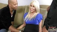 Hot white grandma Erica Lauren still loves black cocks