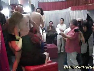 Lan party orgy Bbw latin wild party orgy