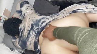 I Rode his BBC and made him Cum on my Ass!