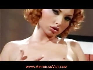 Hot red head cock cucker - Smoking hot red head double stuffed