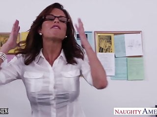 Teacher tease masturbate in class Stockinged sex teacher veronica avluv fuck in class