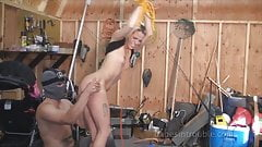 Tatto model bound and spank