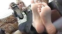 Brit's stinky boots and flip flops