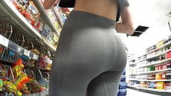 Teen Voyeur - Blonde Leggings Creepshot