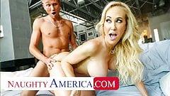 Naughty America - The beautiful MILF Brandi Love loves cock