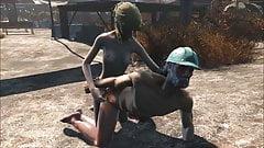 Fallout 4 Katsu sex adventure chap.2 Paint