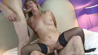 lisa shared two lovers brutal sex - cuckold