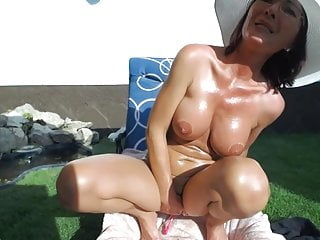 Lush stories erotica Milf playing with lovense lush in the backyard