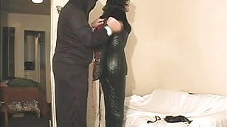 bound and hooded