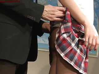 Advertise adult site - Naughty schoolgirl and her professor.movie advertisement.