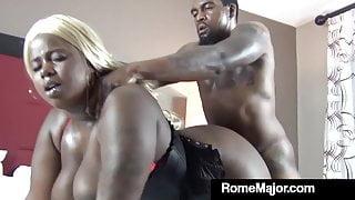 Black Bull Rome Major Bangs Ebony BBW Mizz Luvli Black!
