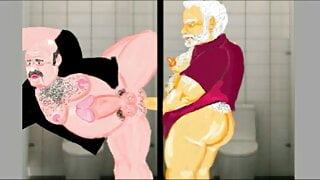 Gaybear: Cruising in public toilets (chapter2 part5)
