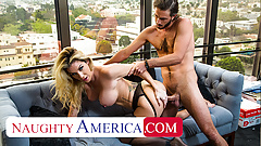Naughty America - Kayla Paige loves hot cum