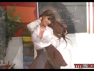 Free fantasy teacher porn - Fantasy at school with milf teacher