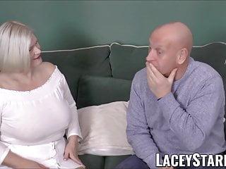 Blowout xxx deals Laceystarr - busty gilf negotiates a good pussy deal
