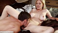 Mother and son, full sex