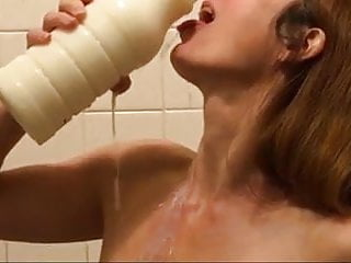 Red head big breast - Big breasts red head milk challenge