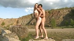Outdoor sex laden with lust