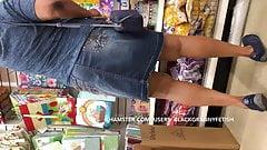 Long Leg Black Milf Upskirt