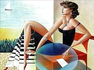 Erotic painting picture print Erotic paintings of georgy kurasov