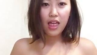 Asian GF sent video
