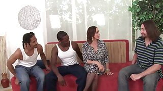 Dirty Cuckold Wives Unleashed INTERRACIAL THREESOME