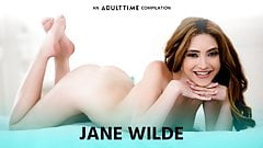 ADULT TIME Jane Wilde Going Crazy on COCK -Ass & Pussy COMP