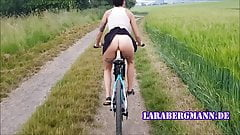 The original! Lara Berrgmann misuses your bike!