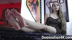 Worship Goddess Kyaa's soft, sexy feet