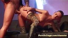 crazy porn on public stage