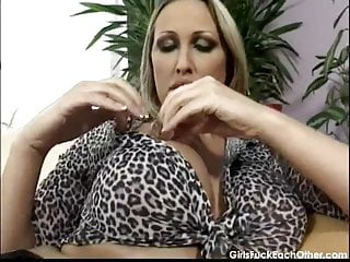 Ice dildo video - Hot lesbian porn with ice and candle