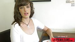 PrimalBang Masturbation Encouragement with British Slut