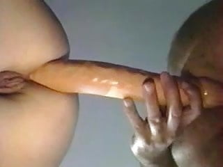 Female king male trannie transgender Double dildo male female enjoyment
