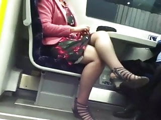 Cross sexy legs - Candid sexy crossed legs 8. hot mature slow motion