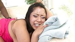 Chubby asian gets sharp sex