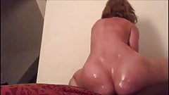 super natural moves of Faye riding a black dick