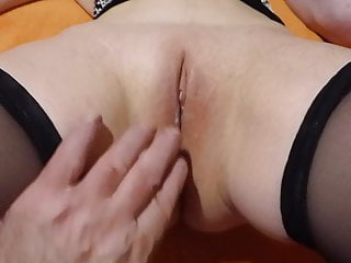 Men eating sperm filled cunts Pussy of my wife filled with sperm from a stranger