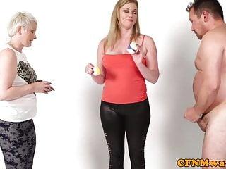 Nude girls bodypaint Cfnm milfs bodypaint guys penis