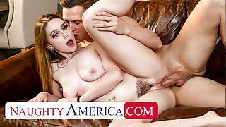 Naughty America - Laney Grey fucks her friend's man