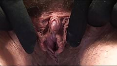 Hairy pussy big clit