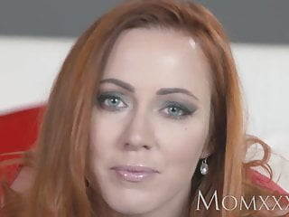 Mom sucked and fucked a nigger - Mom sexy redhead sucks and fucks muscle man