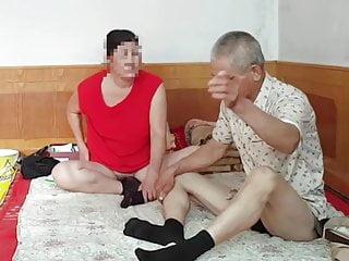 Old mature escort Old man and mature asian prostitute vid1