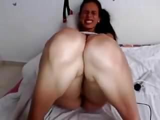 Multiple vibrator orgasm - Giving herself multiple orgasms