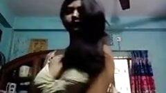 Bengali girl open dress