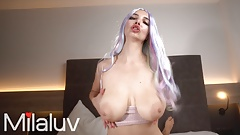 Hot Busty Teen Rides my Dick like a Pro - Milaluv