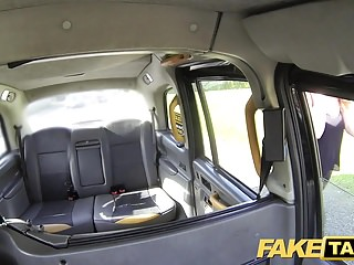 Dog tgp pussy - Fake taxi curvy big tits with ginger bush pussy wants cock