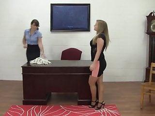 Head bondage - Bound for the head secretaries pleasure