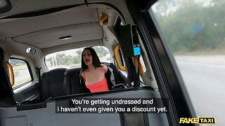 Fake Taxi, the sexy Mia Trejsi confronts the taxi driver