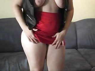 Chubby busty blonde Chubby busty blonde with glasses toying and dirty talk