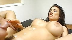 Cum crazy Sheila Marie gets her pussy creamed